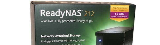 Netgear RN212 NAS storage