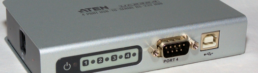 Aten UC2324 - USB to serial hub