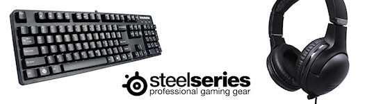 Steelseries 7H headset and the 6Gv2 keyboard